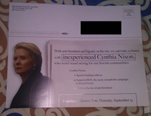 Progressive Caucus Condems State Party Mailer